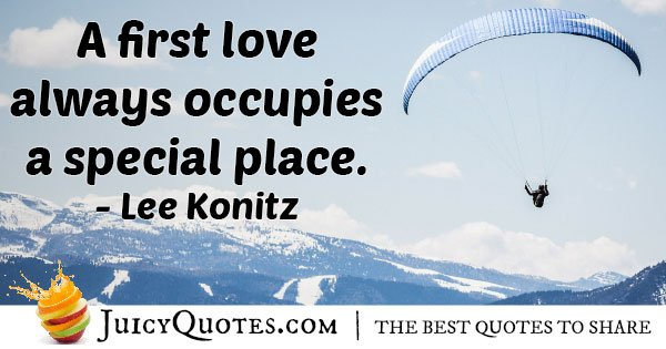 First Love is Special Quote