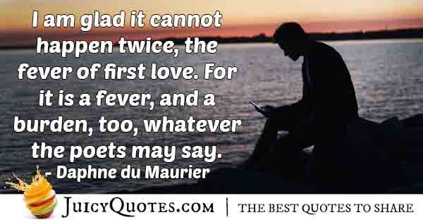 Fever of First Love Quote