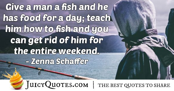 Teaching Fishing Quote