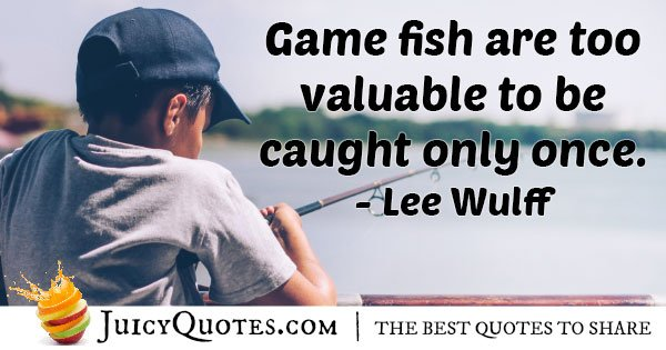 Valuable Fish Quote