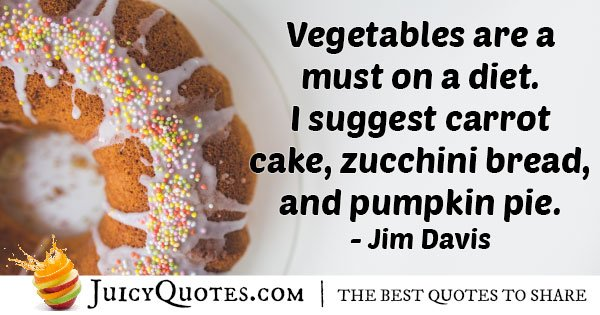 Vegetable Food Quote