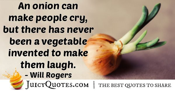 Onion Makes Tears Quote
