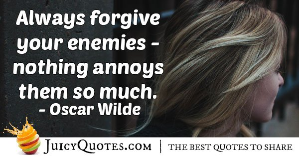 Forgive Your Enemies Quote