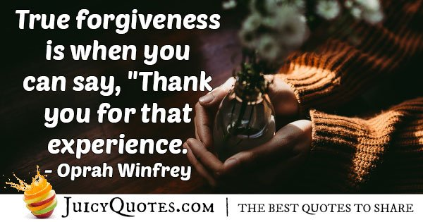 True Forgiveness Quote