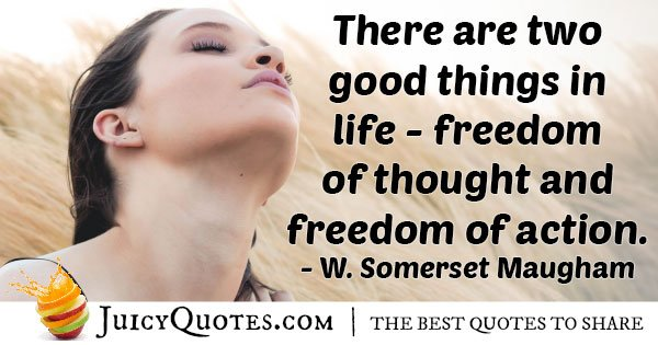 Freedom of Thought Quote