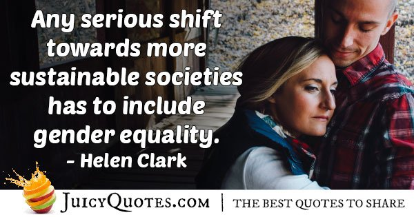 Sustainable Gender Equality Quote