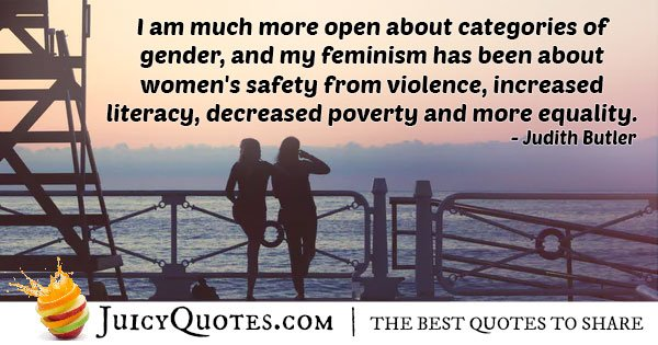 Open Gender Equality Quote