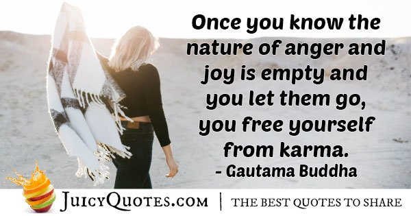 Free Yourself from Karma Quote