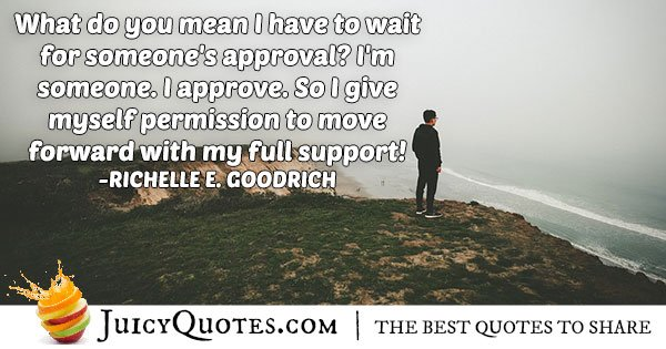Approval by Self Quote