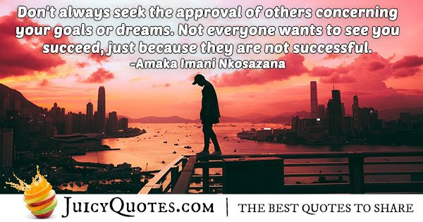 Approval From Others Quote