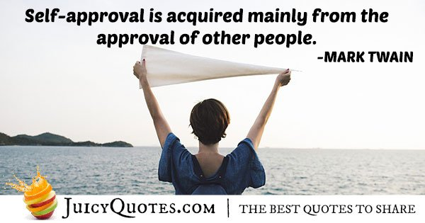 Self-Approval Quote