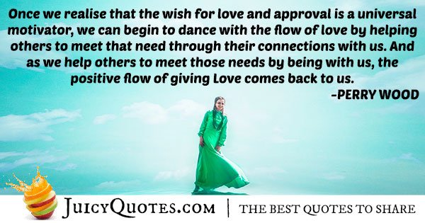 Love and Approval Quote