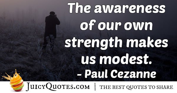 Awareness of Strength Quote