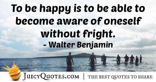 Become Aware of Self Quote