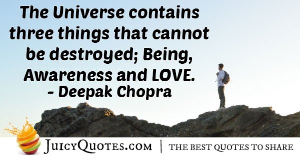 Being, Awareness and Love Quote