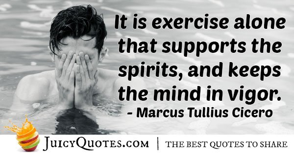 Exercise and the Mind Quote