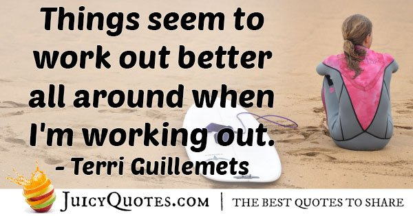 Quote About Working Out