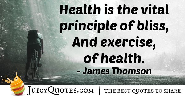 Health and Exercise Quote