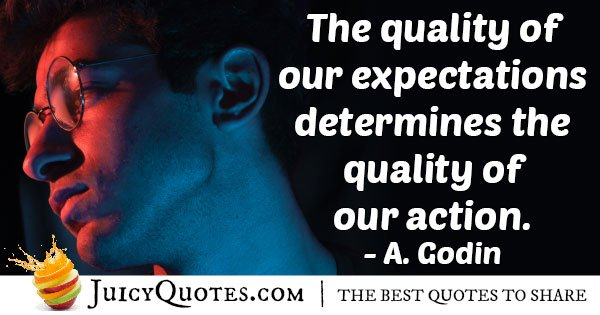 Quality of Expectation Quote
