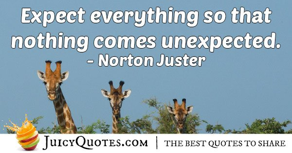 Expectation Of Everything Quote