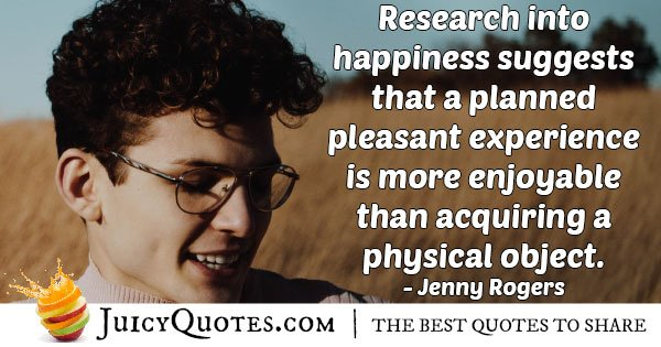 Pleasant Experience Quote