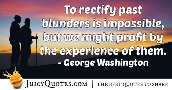 Profit From Experience Quote