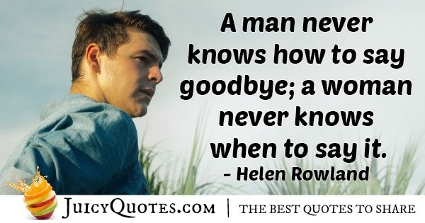 How to Goodbye Quote