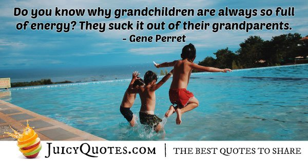 Grandparents Energy Quote With Picture