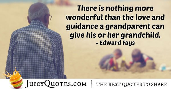 Guidance From Grandparents Quote