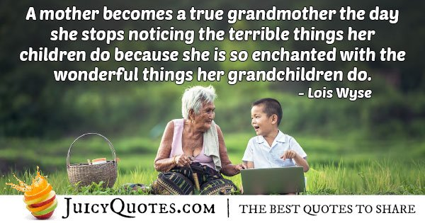 Grandparents Enchanted Quote