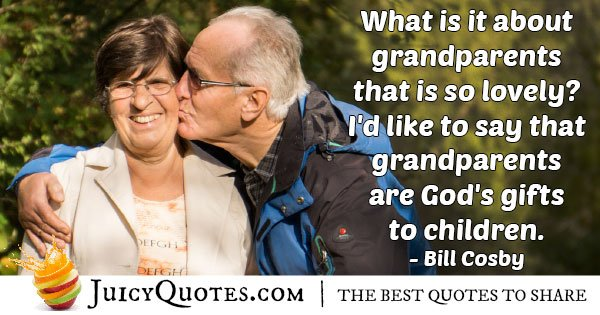 Grandparents are Lovely Quote