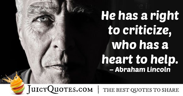 Helping People Heart Quote