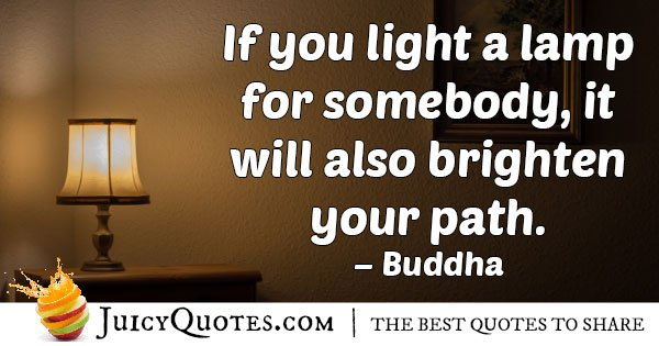Helping People Opens Your Path Quote