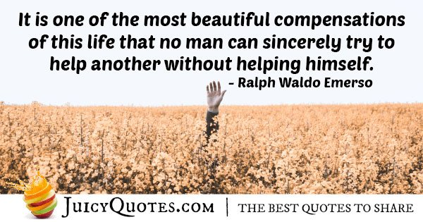 Compensating Helping People Quote