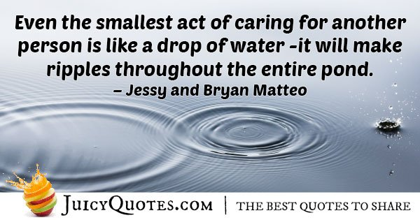 Caring and Helping People Quote