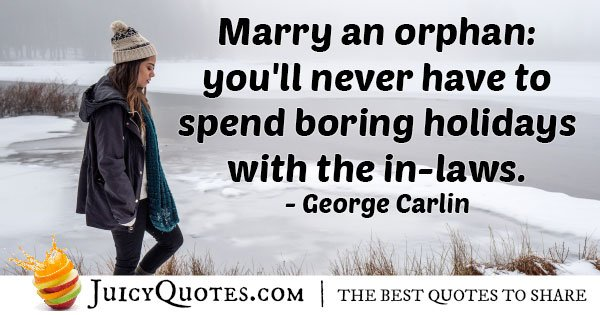 Boring Holiday Quote
