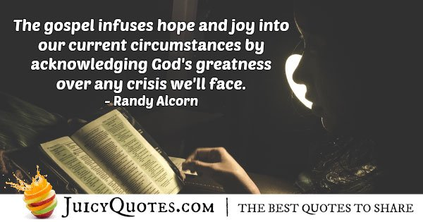 Infuses Hope Quote