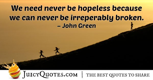 Never Be Hope Quote