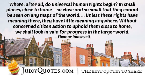 Universal Human Rights Quotes