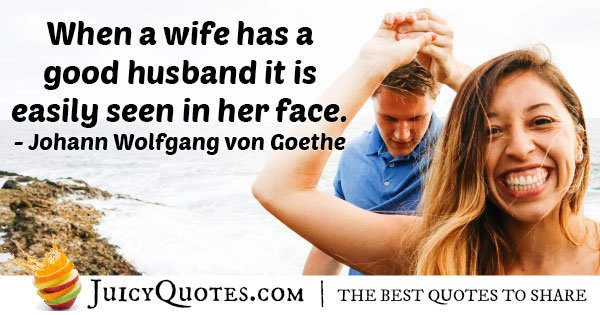 A Good Husband Quote
