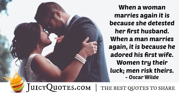 Husband Adored Quote