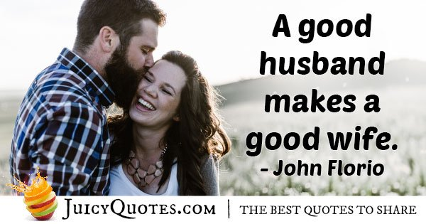 Husband Makes Good Wife Quote With Picture