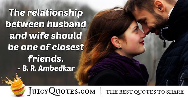 Husband closest Friendship Quote
