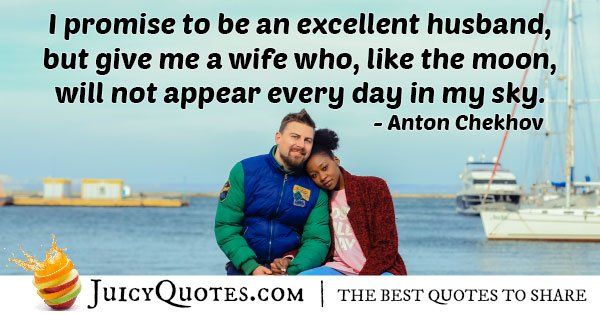 Excellent Husband Quote