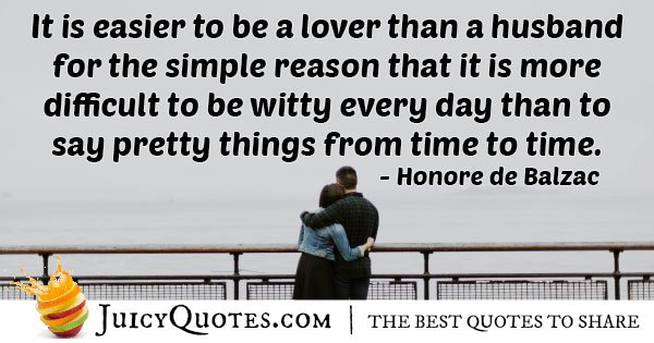 Husband witty Everyday Quote