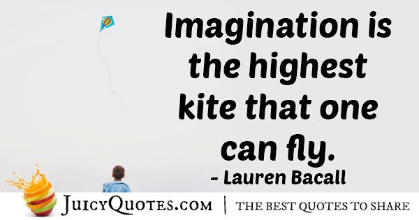 Fly with Imagination Quote