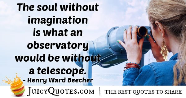 Without Imagination Quote
