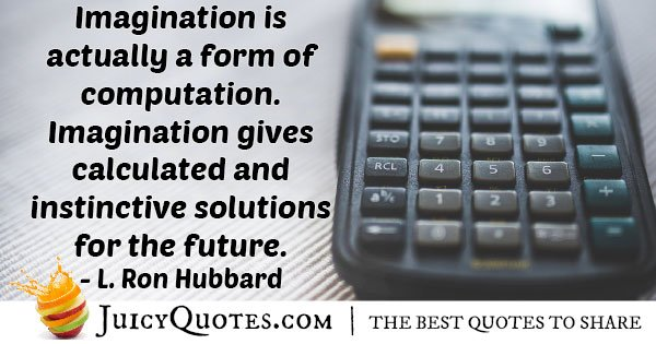 Imagination of Computation Quote