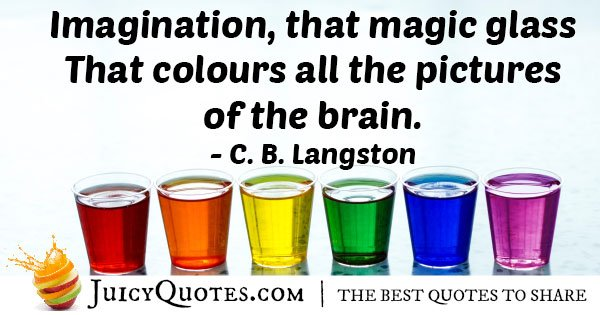 Imagination Magic Quote