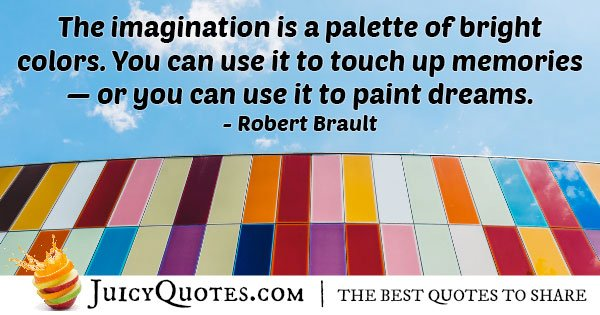 Imagination Bright Colors Quote